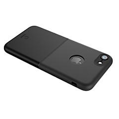 Недорогие Кейсы для iPhone-Кейс для Назначение Apple iPhone X iPhone 7 Защита от удара Ультратонкий Кейс на заднюю панель Сплошной цвет Твердый ТПУ для iPhone 8