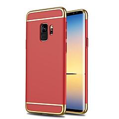 voordelige Galaxy S6 Edge Hoesjes / covers-hoesje Voor Samsung Galaxy S9 S9 Plus Schokbestendig Ultradun Volledig hoesje Effen Kleur Hard Muovi voor S9 Plus S9 S8 Plus S8 S7 edge