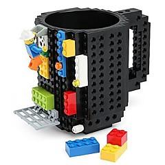 abordables Utensilios y Vasos para Café y Té-Vasos Plásticos Tazas de Café Caricaturas 1pcs