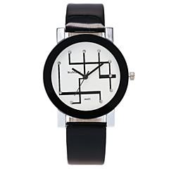 preiswerte Damenuhren-Damen Quartz Simulierter Diamant Uhr Modeuhr Armbanduhren für den Alltag Chinesisch Imitation Diamant Armbanduhren für den Alltag PU Band