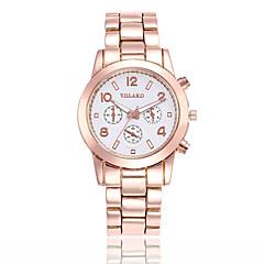preiswerte Herrenuhren-Herrn Quartz Modeuhr Chinesisch Armbanduhren für den Alltag Legierung Band Minimalistisch Rotgold