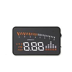 Недорогие Автоэлектроника-x5 3.5дюймовый индикатор Проводное 3.5дюймовый Дисплей заголовка LED индикатор / Многофункциональный дисплей / Аварийный сигнал низкого