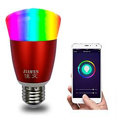 preiswerte LED-Birnen-intelligente wifi-lampe rgbw app steuerung dimmbar e27 / e26 führte glühbirne arbeitet mit alexa google startseite 16 millionen farben ac 85-265v