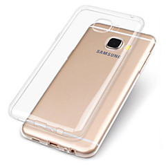 voordelige Galaxy A3 Hoesjes / covers-hoesje Voor Samsung Galaxy A7(2017) A5(2017) Transparant Achterkant Effen Zacht TPU voor A3 (2017) A5 (2017) A7 (2017) A7(2016) A5(2016)