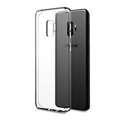 halpa Galaxy S3 kotelot / kuoret-Etui Käyttötarkoitus Samsung Galaxy S9 S9 Plus Ultraohut läpinäkyvä Body Takakuori Yhtenäinen Pehmeä TPU varten S9 Plus S9 S8 Plus S8 S7
