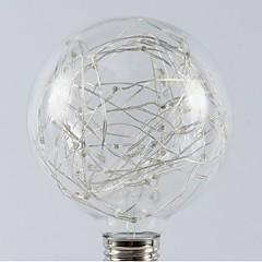 お買い得  LED 電球-1個 1W - E26 / E27 LEDボール型電球 20 LEDビーズ SMD 星の 温白色 RGB 200-240V