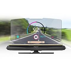 cheap Head Up Display-ZIQIAO Universal Car GPS HUD Head Up Display Holder for Car Display KM/h MPH