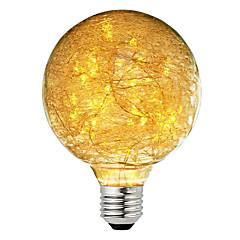preiswerte LED-Birnen-BRELONG® 1pc 3W 300lm E26 / E27 LED Kugelbirnen 47 LED-Perlen sternenklar Dekorativ Warmes Weiß 220-240V