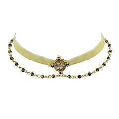 abordables Bijoux pour Femme-Collier court / Ras-du-cou - Beige 39 cm Colliers Tendance Bijoux Pour Fête / Soirée, Ecole