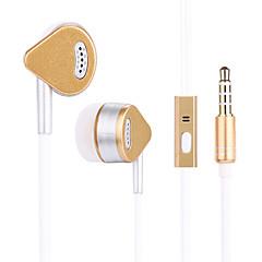billige Headset og hovedtelefoner-T908 I øret Audio Indgang Hovedtelefoner Dynamisk Aluminum Alloy Sport & Fitness øretelefon Headset