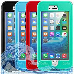 Недорогие Кейсы для iPhone 6-Кейс для Назначение Apple iPhone 8 iPhone 7 Защита от влаги Чехол Однотонный Твердый ПК для iPhone 8 Pluss iPhone 8 iPhone 7 Plus iPhone