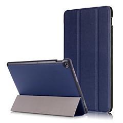 abordables Otras Fundas-Funda Para Asus ZenPad 10 Z301M / ZenPad 10 Z300CL Origami Funda de Cuerpo Entero Un Color Dura Cuero de PU para ASUS ZenPad 10 Z301ML / ASUS ZenPad 10 Z301MFL / ASUS ZenPad 10 Z301MF