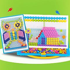 abordables Niños Puzzles-Puzzles 3D Redondo Juguete del foco Hecho a Mano Dibujo 3D de resina ABS Cumpleaños Tema Fantástico Portátil Juguete Todo Regalo