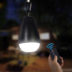 お買い得  ランタン&テント用ライト-ランタン&テントライト LED LED エミッタ 150 lm 防水, パータブル, リモートコントロール キャンプ / ハイキング / ケイビング, 日常使用, 釣り ブラック