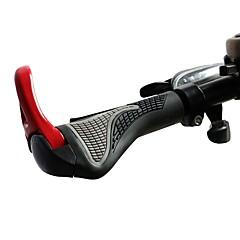 abordables Puños y Manguitos para Manillar-Manillar Bicicleta de Montaña Ergonómico Aluminum Alloy / Caucho - 2 pcs Negro / Rojo / Azul