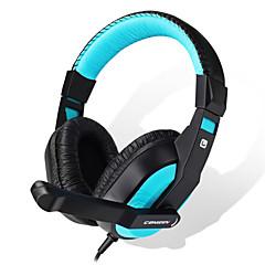 お買い得  ビデオゲーム用アクセサリー-CT-770 ケーブル ヘッドフォン 用途 PC ヘッドフォン PUレザー 1pcs 単位 200cm