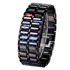 cheap Bracelet Watches-Men's Women's Digital Digital Watch Wrist Watch Chinese Calendar / date / day Chronograph Casual Watch Noctilucent Luminous Alloy Band