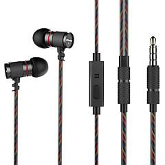 preiswerte Headsets und Kopfhörer-AWEI ES-660i Im Ohr Kabel Kopfhörer Dynamisch Mahagoni Sport & Fitness Kopfhörer Mit Mikrofon Headset