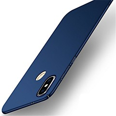 Недорогие Чехлы и кейсы для Xiaomi-Кейс для Назначение Xiaomi Redmi Note 5 Pro Ультратонкий Матовое Кейс на заднюю панель Однотонный Твердый ПК для Xiaomi Redmi 5 Xiaomi