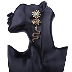 preiswerte Ohrringe-Lang Tropfen-Ohrringe - Schlange Retro, Ethnisch Gold / Silber Für Geschenk / Zeremonie