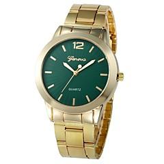 preiswerte Damenuhren-Damen Armband-Uhr Chinesisch Neues Design / Chronograph / Niedlich Legierung Band Freizeit / Modisch Gold