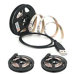 お買い得  LED ストリングライト-ZDM® 3x1M ストリングライト 300 LED 温白色 / クールホワイト カット可能 / USB / 接続可 USBパワード 3本