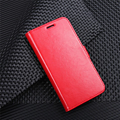 cheap Cases / Covers for HTC-Case For HTC HTC Desire 12 / HTC Desire 12+ Wallet / Card Holder / Flip Full Body Cases Solid Colored Hard PU Leather for HTC U11 plus / HTC U11 Life / HTC U11