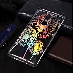 Недорогие Чехлы и кейсы для Nokia-Кейс для Назначение Nokia Nokia 7 Plus / Nokia 6 2018 Покрытие / С узором Кейс на заднюю панель одуванчик Мягкий ТПУ для Nokia 7 Plus /