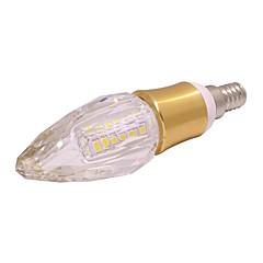 お買い得  LED 電球-1個 5W 260lm E14 LEDキャンドルライト T 40 LEDビーズ SMD 2835 温白色 / クールホワイト 85-265V