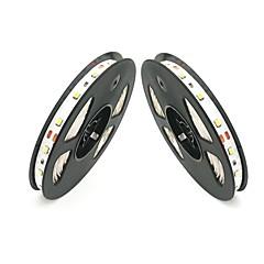 お買い得  LED ストリングライト-ZDM® 2x5M ストリングライト 300 LED SMD 2835 温白色 / クールホワイト / レッド カット可能 / ノンテープ・タイプ 12 V 2pcs
