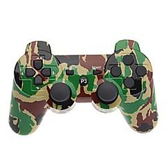 お買い得  PS3 用アクセサリー-ワイヤレス ゲームコントローラ 用途 Sony PS3 、 Bluetooth パータブル ゲームコントローラ ABS 1 pcs 単位