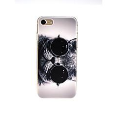 Недорогие Кейсы для iPhone 7-Кейс для Назначение Apple iPhone X / iPhone 7 Ультратонкий / С узором / Милый Кейс на заднюю панель Кот Мягкий ТПУ для iPhone X / iPhone 8 Pluss / iPhone 8