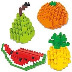 Χαμηλού Κόστους -Τουβλάκια 4pcs Κινούμενα σχέδια / Φρούτο Ζώα Δώρο