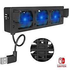 abordables Accesorios para Nintendo Switch-DOBE TNS-1719 Ventiladores Para Interruptor de Nintendo ,  Ventiladores ABS 1 pcs unidad