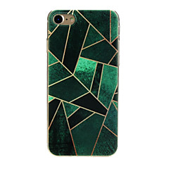 cheap iPhone Cases-Case For Apple iPhone X / iPhone 7 Ultra-thin / Pattern / Lovely Back Cover Geometric Pattern Soft TPU for iPhone X / iPhone 8 Plus / iPhone 8