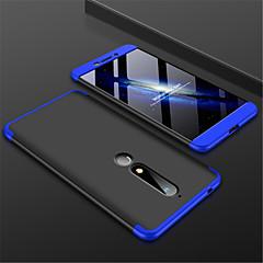 Недорогие Чехлы и кейсы для Nokia-Кейс для Назначение Nokia Nokia 7 Plus / Nokia 6 2018 Матовое Кейс на заднюю панель Однотонный Твердый ПК для Nokia 7 Plus / Nokia 6 2018
