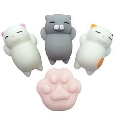 abordables Productos Anti-Estrés-Juguetes para apretar / Antiestrés Gato / Garra de gato Others 4pcs Niños Todo Regalo