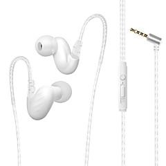 preiswerte Headsets und Kopfhörer-Factory OEM D-15 Im Ohr Mit Kabel Kopfhörer Kopfhörer Metalschale Handy Kopfhörer Stereo / Mit Mikrofon Headset