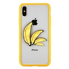 Недорогие Кейсы для iPhone 6-Кейс для Назначение Apple iPhone X iPhone 8 Защита от удара Кейс на заднюю панель Фрукты Твердый ПК для iPhone X iPhone 8 Pluss iPhone 8