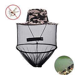 abordables Ropa de Pesca-Unisex Sombrero Verano Nailon / Tul Telones / Antimosquitos / Resistentes a los rayos UV camuflaje