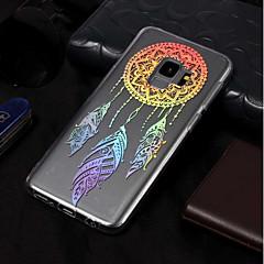 abordables Galaxy S3 Carcasas / Fundas-Funda Para Samsung Galaxy S9 / S9 Plus Cromado / Diseños Funda Trasera Atrapasueños Suave TPU para S9 Plus / S9 / S8 Plus