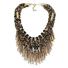 preiswerte Halsketten-Damen Kubikzirkonia Y Halskette - Erklärung, damas, Klassisch, Modisch Schwarz 50 cm Modische Halsketten Schmuck Für Party, Geburtstag
