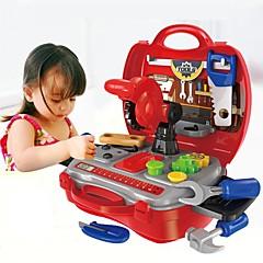 abordables Juegos de imaginación-Herramientas de juguete / Cajas de Herramientas Creativo / Interacción padre-hijo Niño / Preescolar Regalo 19pcs