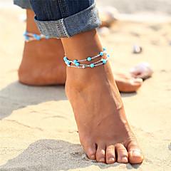 levne Dámské šperky-Tyrkysová Nákotník - Vintage, Cikánské, Tropický vzhled Zlatá / Stříbrná Pro Dar / Bikini