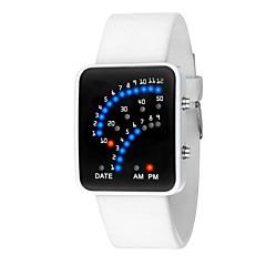 preiswerte Damenuhren-Damen digital Digitaluhr Chinesisch Kalender / Chronograph / Armbanduhren für den Alltag / leuchtend Silikon Band Elegant / Modisch