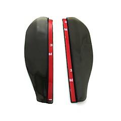 お買い得  カーアクセサリー-2pcs 車 車の雨の眉 ビジネス ペーストタイプ For バックミラー For ユニバーサル 全ての機種 全年式