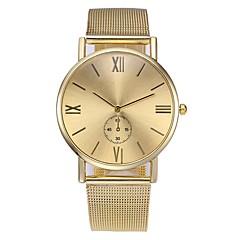 preiswerte Herrenuhren-Herrn Armbanduhr Chinesisch Chronograph / Armbanduhren für den Alltag Legierung Band Modisch / Minimalistisch Silber / Gold