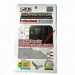 Недорогие Аксессуары для Nintendo Switch-Защитные пленки Назначение Nintendo DS Защитные пленки PP 1 pcs Ед. изм