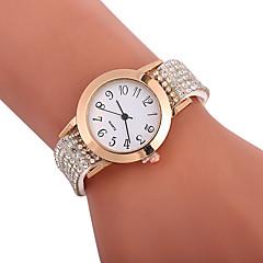 preiswerte Damenuhren-Xu™ Damen Kleideruhr Armbanduhr Quartz Kreativ Armbanduhren für den Alltag Imitation Diamant PU Band Analog Modisch Elegant Schwarz / Weiß / Blau - Rot Grün Blau Ein Jahr Batterielebensdauer