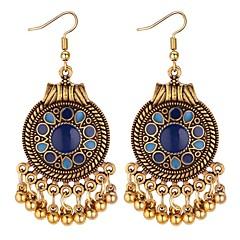preiswerte Ohrringe-Damen Synthetischer Tansanit Tropfen-Ohrringe - Stilvoll Schwarz / Rot / Blau Für Alltag / Ausgehen